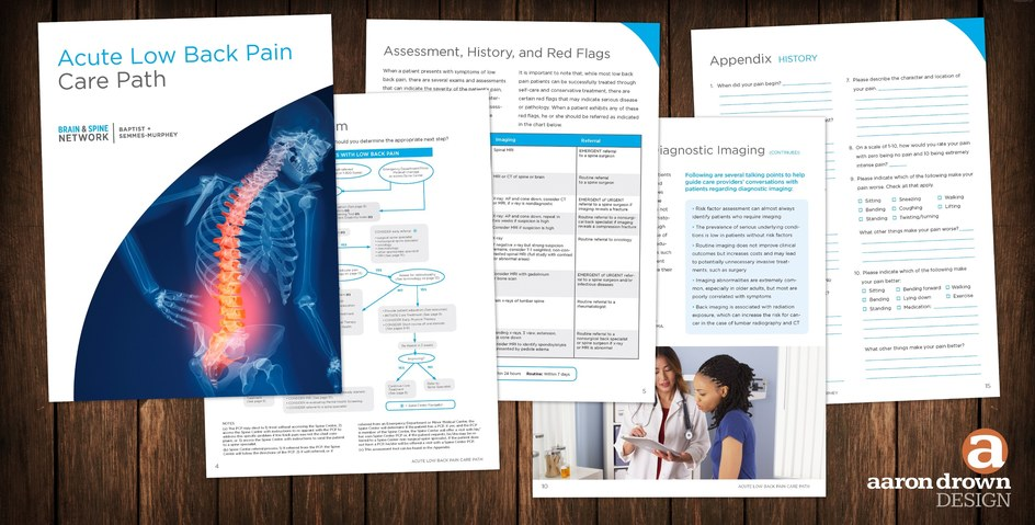 Acute Lower Back Pain Care Path.