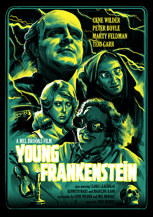 YOUNG FRANKENSTEIN (re-issue)