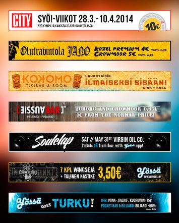 Various Yossa Banners