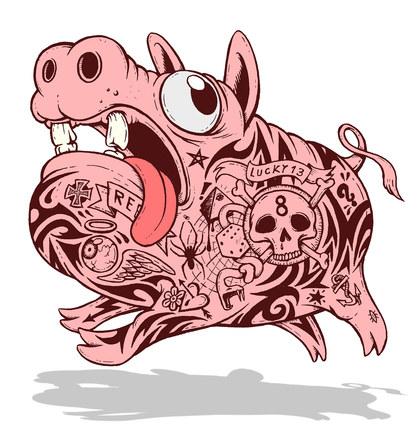 Run piggie run!