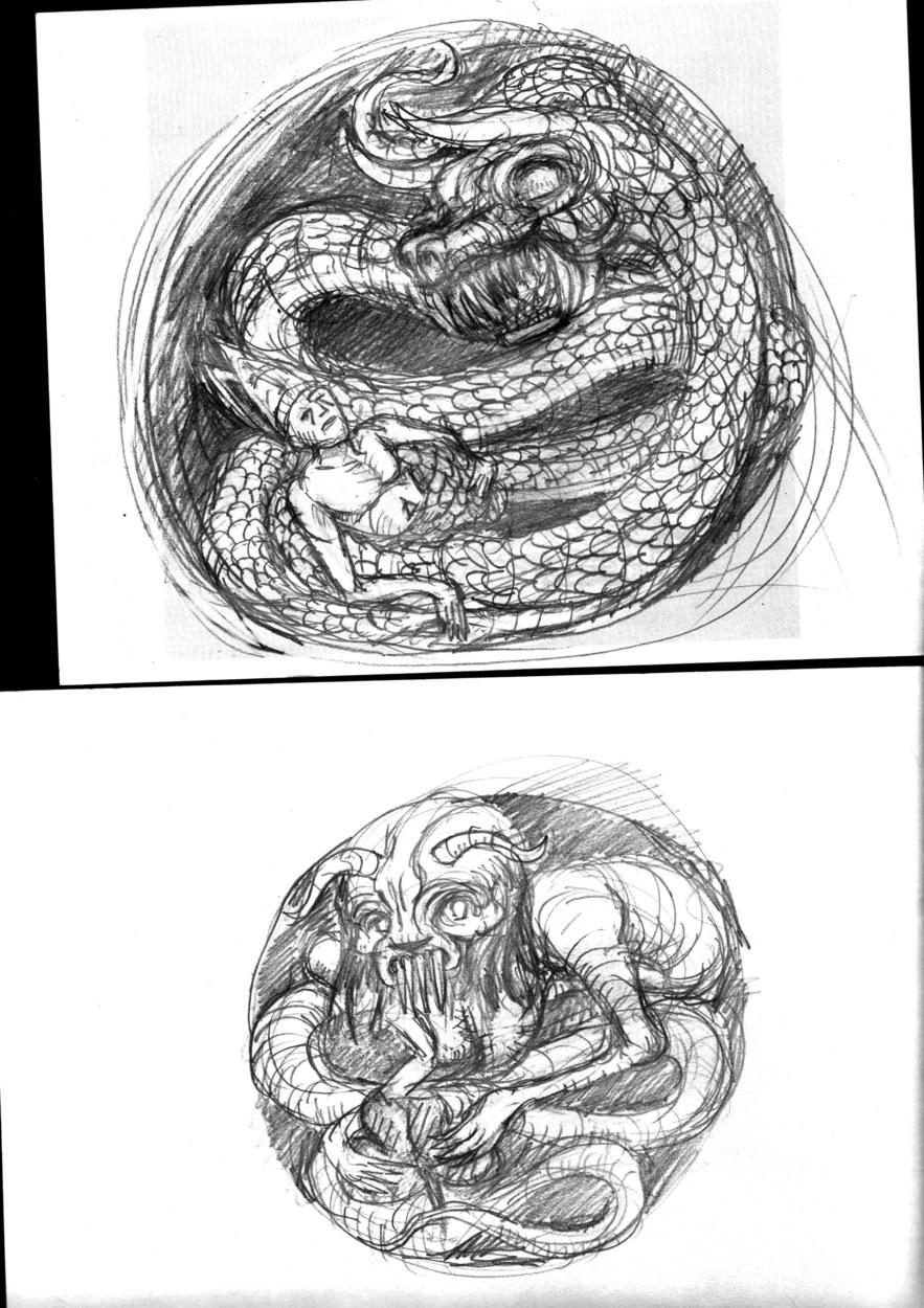 Deathwish Sketches