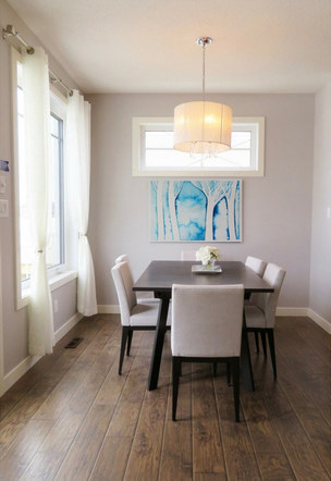 """Light Filtering Through"" in a Bright Dining Room"