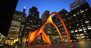 Chicago at Night 2014