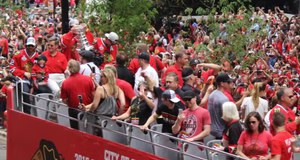 Blackhawks Victory Parade 2015
