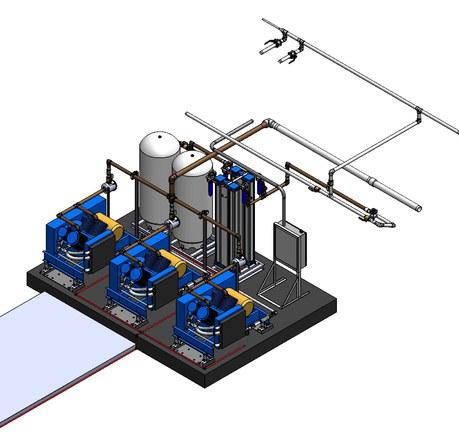New system layout presentation