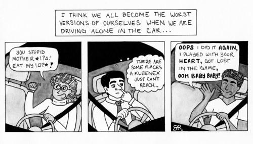 Alone in the Car