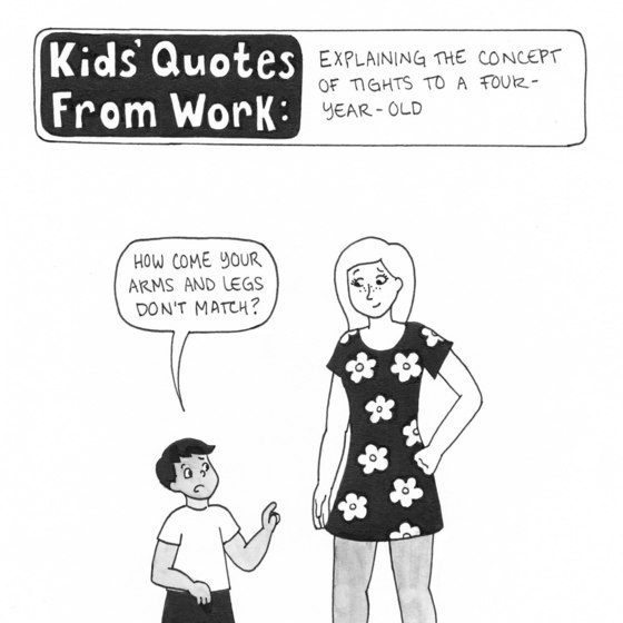 Kids' Quotes From Work