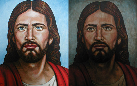 Two faces of Christ