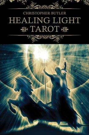 Healing Light Tarot. Deck and Book Set. Box cover artwork.
