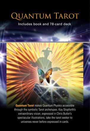 Quantum Tarot. Box rear artwork.