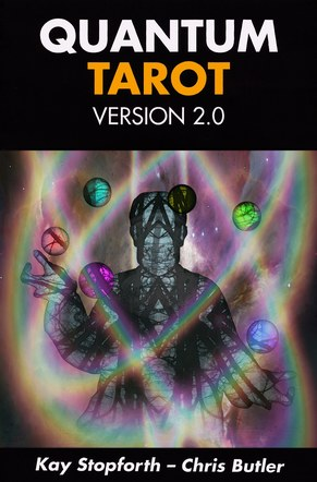 Quantum tarot 2.0. Box rear artwork.