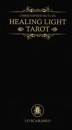 Healing Light Tarot. Book Cover.