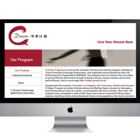 C Dream Program Web Design