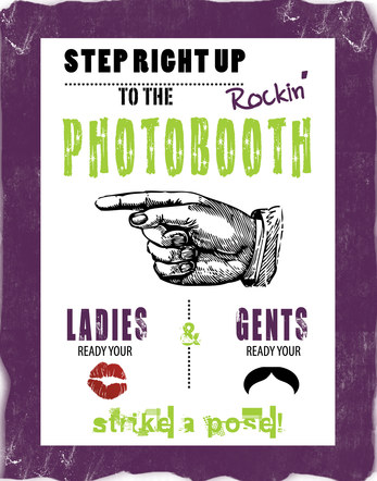 Chalson - Wedding - Photo Booth Signage