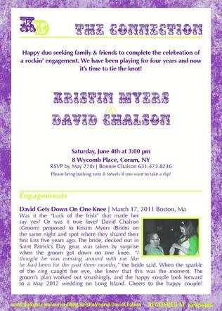 Chalson - Wedding - Engagement Announcement