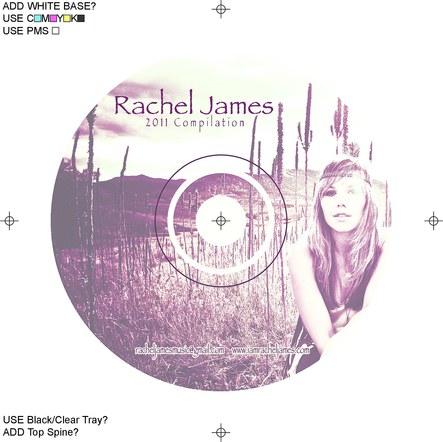 Rachel James - CD Design