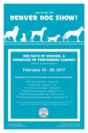 Colorado Kennel Club Event Poster
