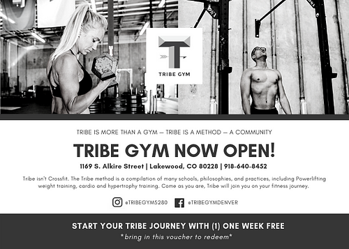 Tribe Gym Denver - Opening Promo