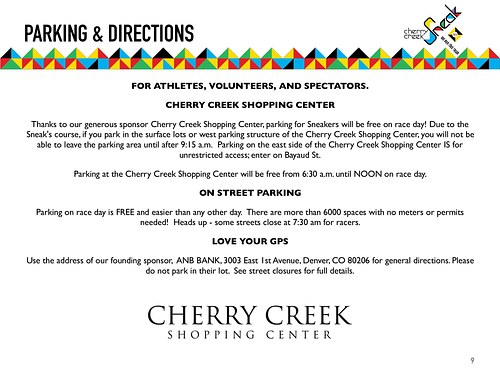 Cherry Creek Sneak - Event Guide pg9