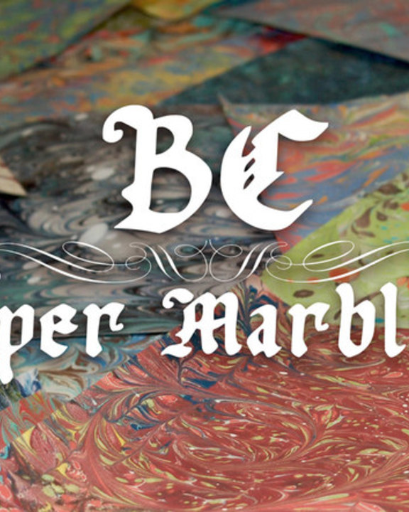 BC Paper Marbling