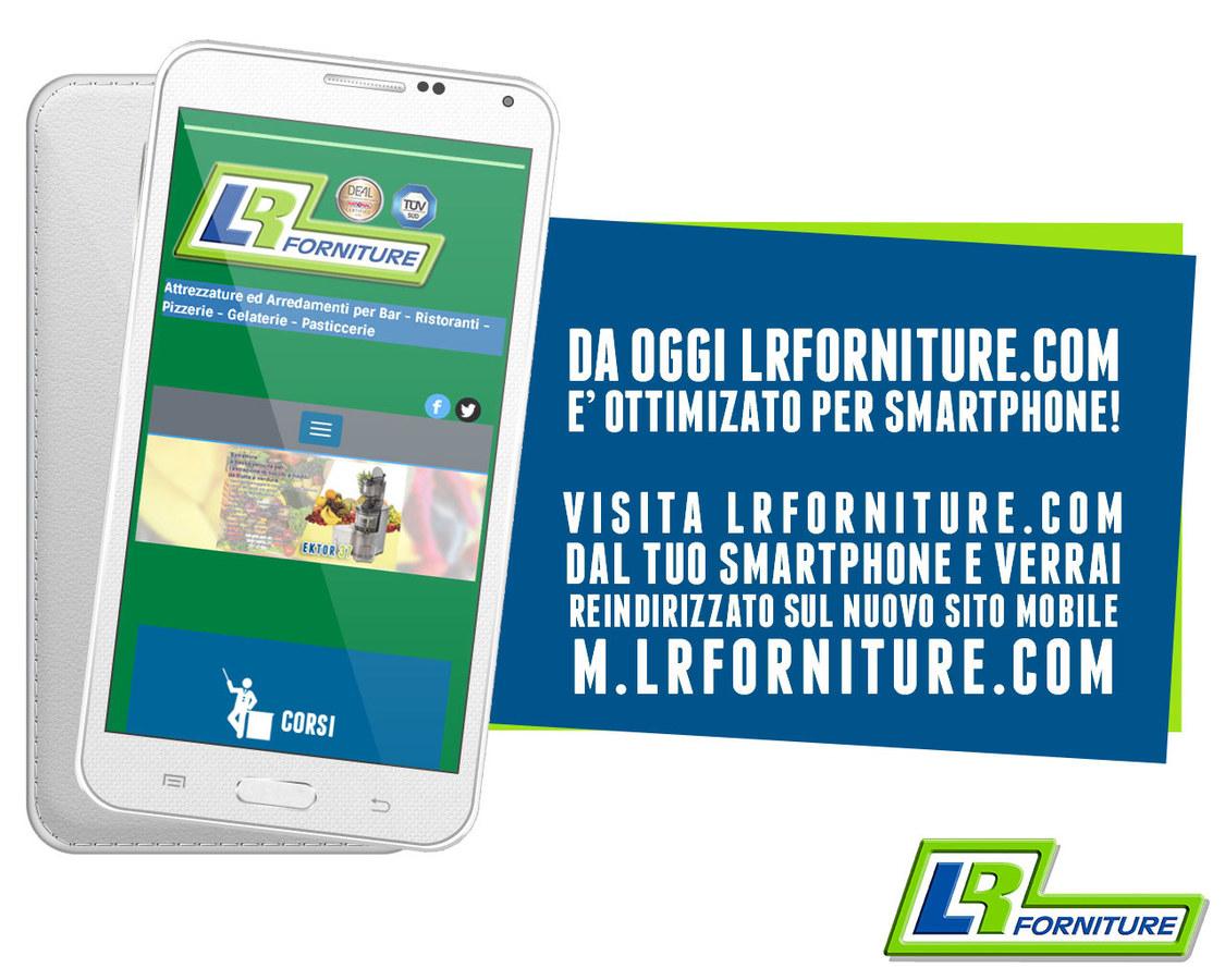 Mobile site m.lrforniture.com