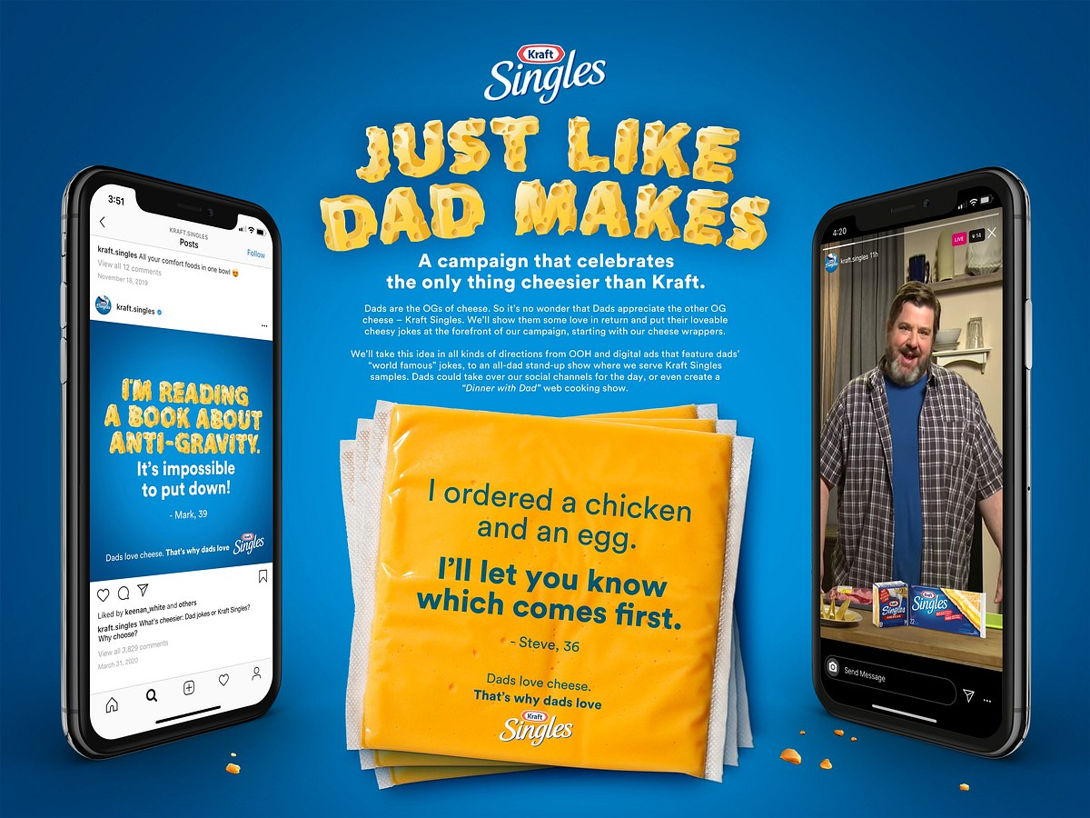 Kraft Singles | Just Like Dad Makes