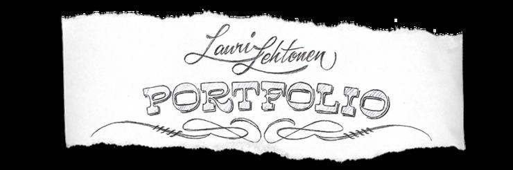 Lauri Lehtonen : PORTFOLIO