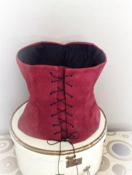 Suede corset 2013