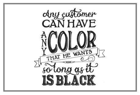 Henry Ford Black Quote