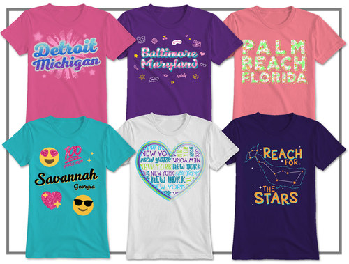 Youth Girls Apparel - Regional
