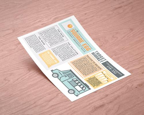 Square Egg Concept Board