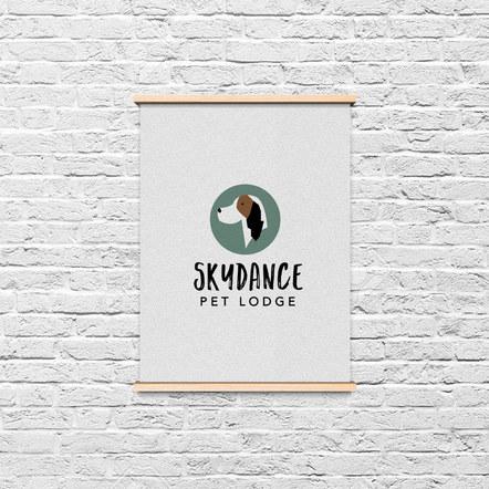 Skydance Pet Lodge Logo Option