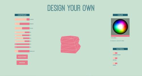 Diseño de aplicación web