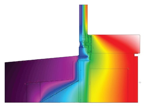 Bottom Connection - Thermal Analysis Model