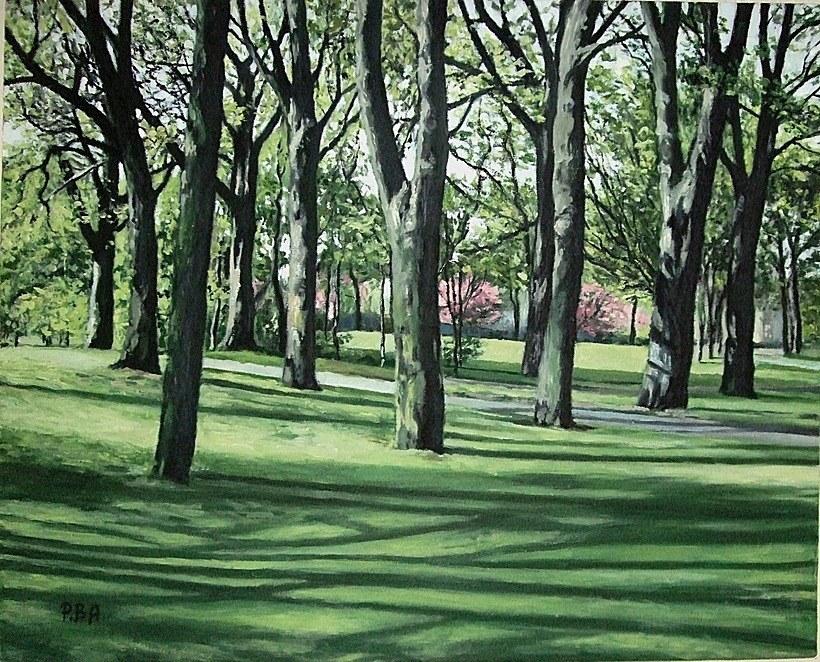 May  in Victoria Park, Edinburgh, Scotland