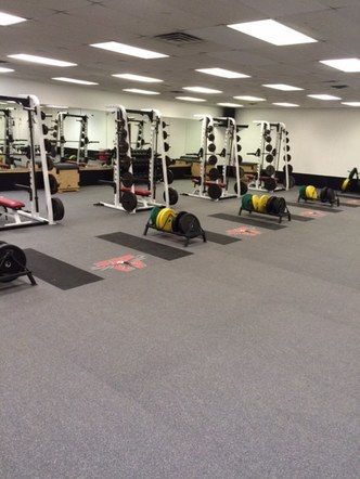 Weatherford, OK HS Weight Room