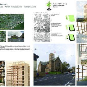 Church Tower Competition - Dundee Insitute Of Architects - Best Group Project 2017