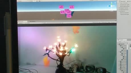 Butterfly in a Tree Augmented Reality Music Visualizer