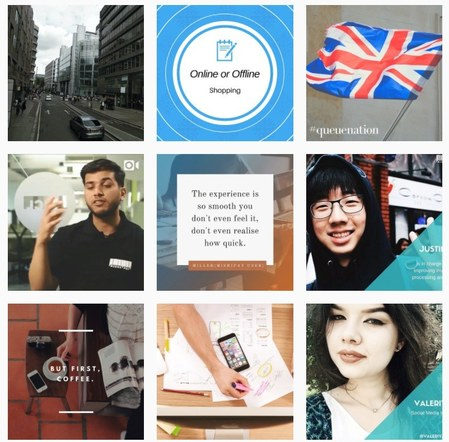 Instagram feed of MishiPay