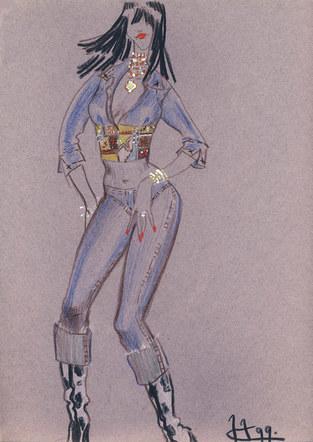 Fashion Sketch #12