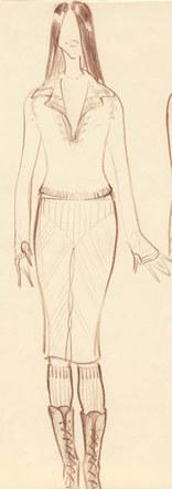 Fashion Sketch #3
