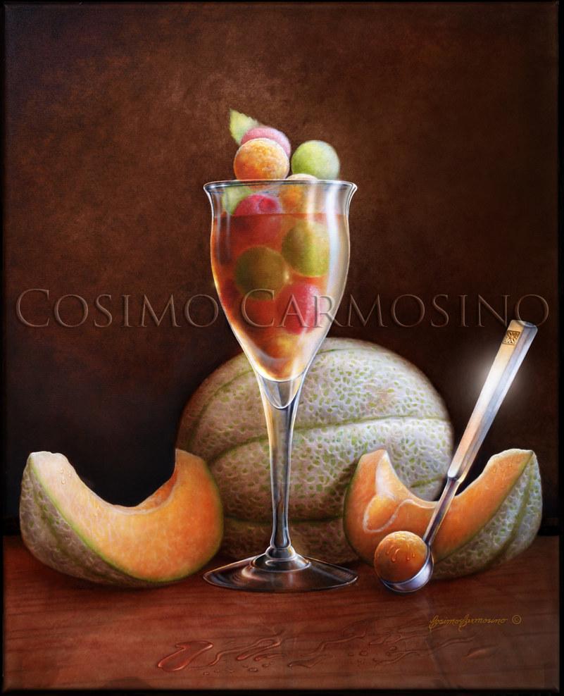 "TITLE: ""Cantaloupe Delight"""