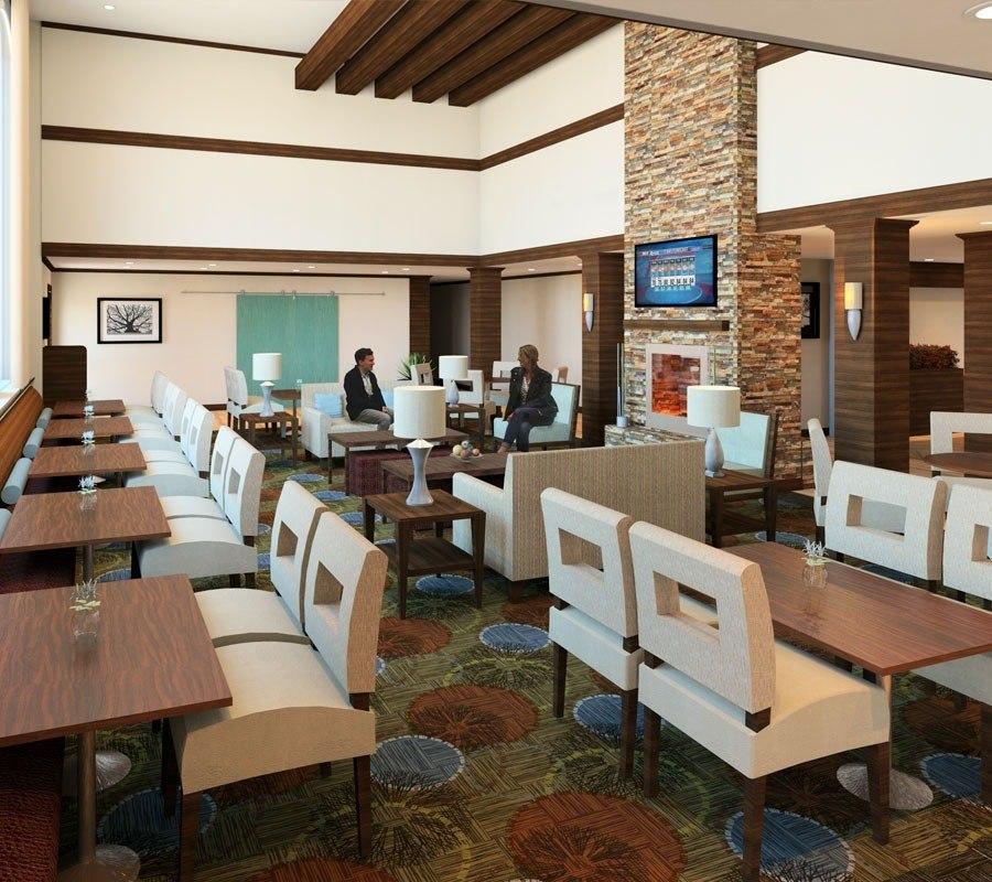 Revit Hotel Renderings