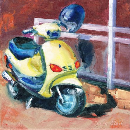 Lemon vespa in Limone SOLD