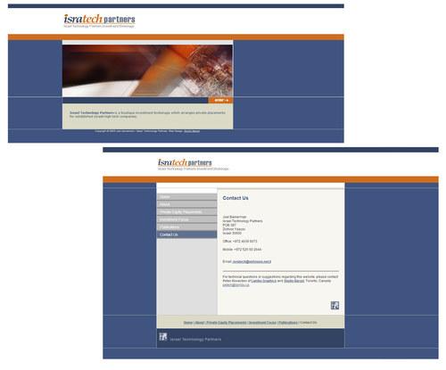Isratech Partners Website