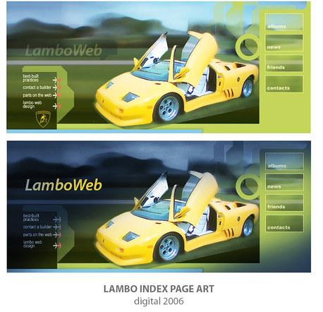 Lambo Web Website