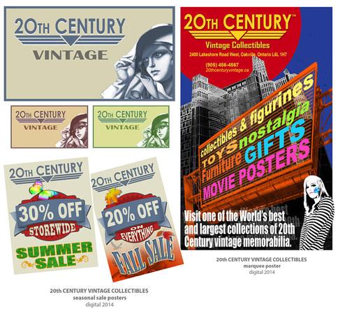 20th Century Signage