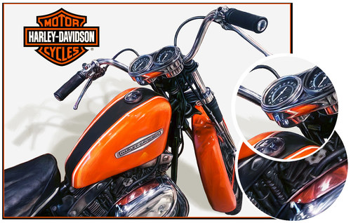 Harley Orange