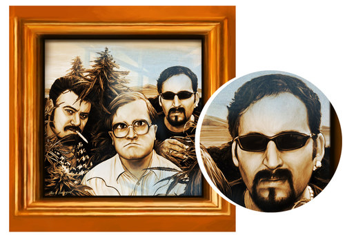 "Trailer Park Boys ""Framed"""