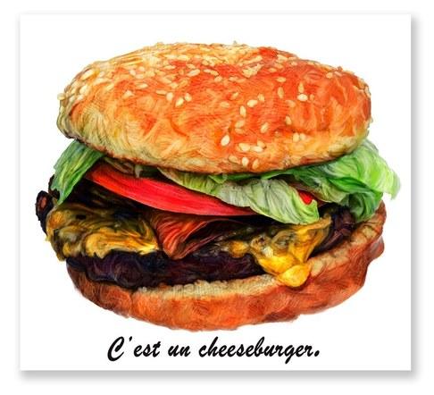 C'est un Cheesburger